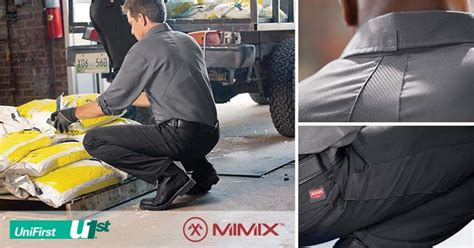 UniFirst Debuts Revolutionary MIMIX™ Line of Workwear in