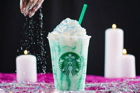 Starbucks Crystal Ball Frappuccino Is Now Available From