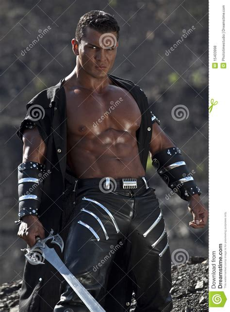Angry Warrior Royalty Free Stock Photos - Image: 15403998
