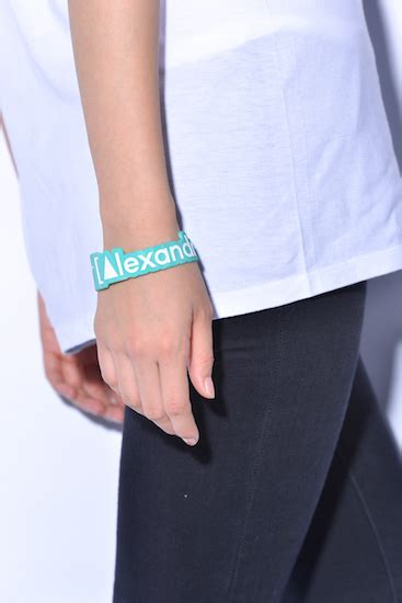 We Come In Peaceラバーバンド(グリーン) | [Alexandros] | UKFC ONLINE SHOP
