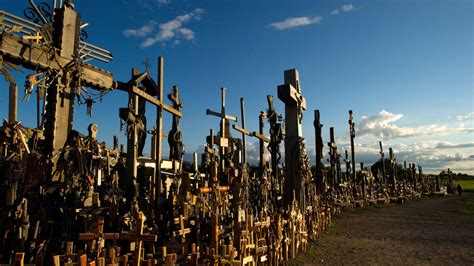 Lithuania's Amazing Hill of Crosses