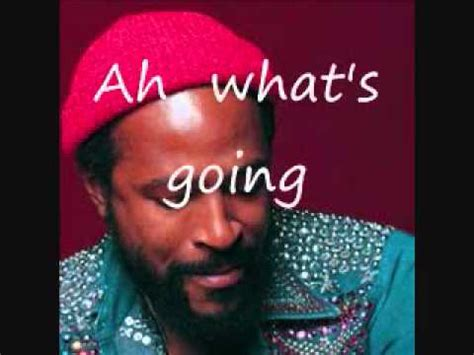 Whats Going On By Marvin Gaye - With Lyrics - YouTube