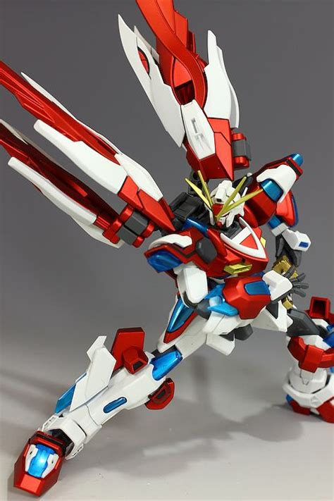 HGBF 1/144 Kamiki Burning Gundam World Champ Kai: Modeled by hobbynotoriko